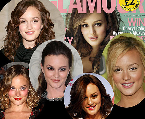 Photos of Leighton Meester's Hair and Makeup