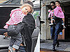 Pictures of Halle Berry and Nahla Aubry Grabbing Lunch in LA
