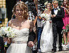 Pictures of Taylor Swift Filming Video in Wedding Dress