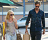 Slide Picture of Kate Bosworth and Alexander Skarsgard Shopping in LA