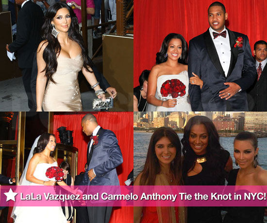 LaLa Vazquez and Carmelo Anthony Tie the Knot in NYC!