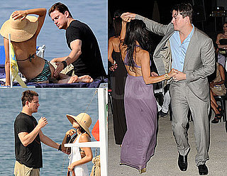 Pictures of Channing Tatum and Jenna Dewan in a Bikini in Italy