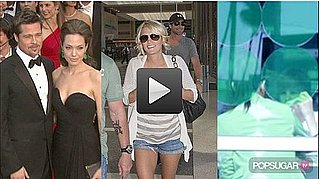 Video of Angelina Jolie on Brad Pitt and Family, Carrie Underwood Celebrity Wedding, and Kim Kardashian With Justin Bieber