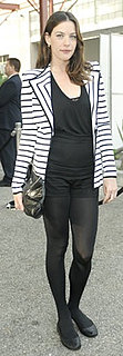Liv Tyler Wears Givenchy Striped Jacket