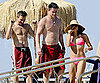 Slide Picture of Shirtless Channing Tatum, Jeremy Renner Jenna Dewan at Ischia Film and Music Festival