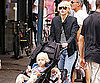 Slide Picture of Naomi Watts With Sasha and Sam in New York