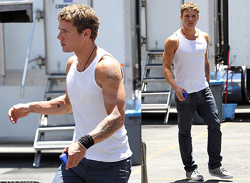 Pictures of Ryan Phillippe Filming The Lincoln Lawyer