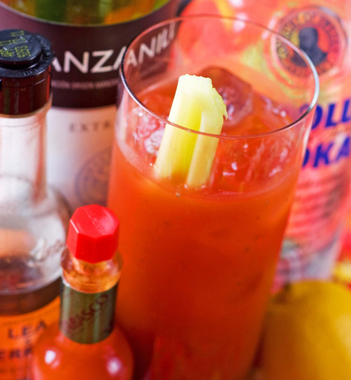 Building Blocks For a Bangin' Bloody Mary Bar