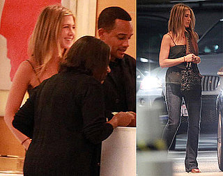 Pictures of Jennifer Aniston Out to Dinner With A Man in LA