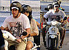 Pictures of Channing Tatum and Jenna Dewan Riding Scooter in Italy