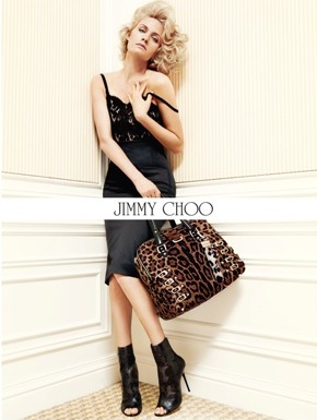 Amber Valletta For Jimmy Choo