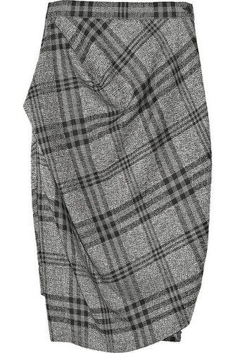 Vivienne Westwood Anglomania | Philosophy wool plaid skirt | NET 450