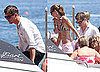 Pictures of Josh Hartnett Boarding a Boat in Italy With a Lady Friend