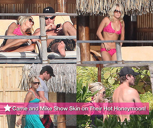 Pictures of Carrie Underwood in Bikini and Mike Fisher Shirtless on Honeymoon