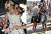 Pictures of Paris Hilton and Nicky Hilton Partying in Bikinis in St Tropez