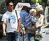 Slide Picture of Gwen Stefani Shopping in LA With Gavin and Zuma Rossdale