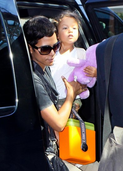 Pictures of Halle Berry and Nahla Aubrey