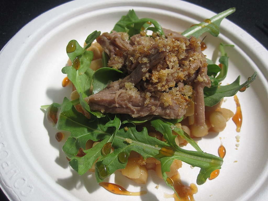 This braised lamb shoulder with white beans was another case where I preferred the accompaniment over the lamb.