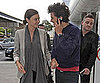 Slide Picture of Orlando Bloom and Miranda Kerr at Airport in London