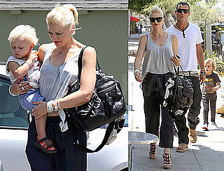 Pictures of Gwen Stefani, Gavin, Zuma, and Kingston Rossdale Spending the Weekend in LA