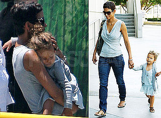 Pictures of Halle Berry and Nahla Aubry Going to the Circus in LA