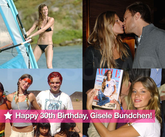 Pictures of Gisele Bundchen in Bikini, With Benjamin, Leonardo DiCaprio, Tom Brady