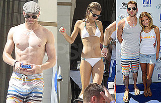 Pictures of Shirtless Kellan Lutz and Bikini-Clad AnnaLynne McCord in Las Vegas