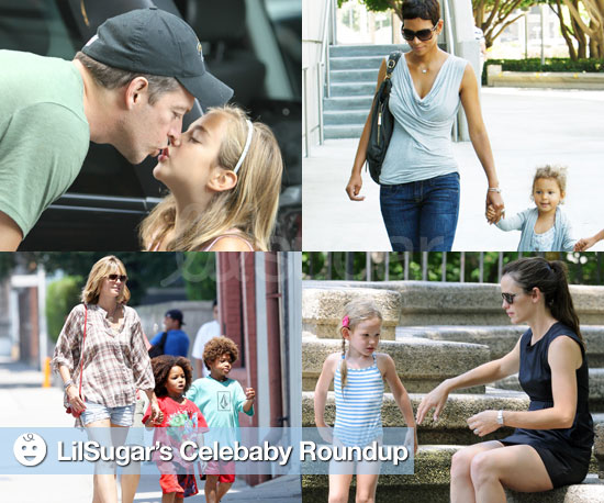 Pictures of Halle Berry, Harry Connick Jr., Jennifer Garner, and Heidi Klum With Their Kids