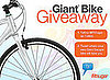 Win a Giant Escape Hybrid Bike Giveaway!