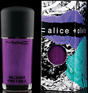 MAC Alice + Olivia Nail Polish Review