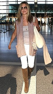 Picture of Jennifer Aniston at LAX Airport