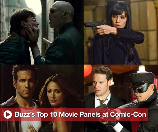 Comic-Con Countdown: Buzz's Top 10 Movie Panels
