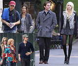 Photos of Gossip Girl Kids Hanging Out Over The Weekend 2009-10-05 09:54:07