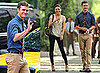 Pictures of Justin Timberlake and Mila Kunis Filming Friends With Benefits in NYC