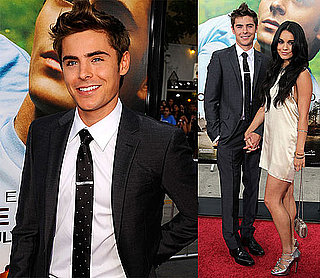 Pictures of Zac Efron and Vanessa Hudgens at LA Premiere of Charlie St. Cloud