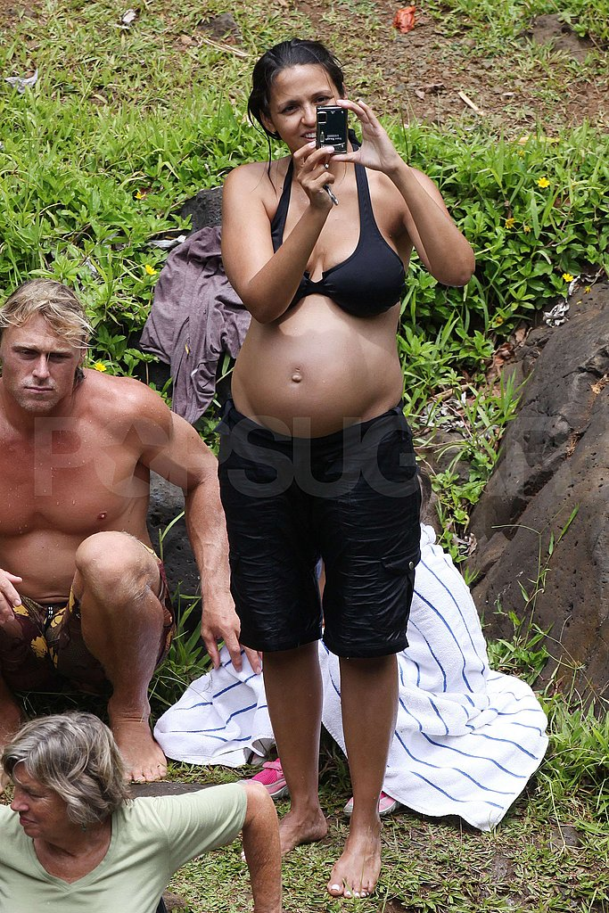Pictures of Matt Damon and Pregnant Luciana