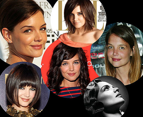 Katie Holmes' Hair and Makeup Throughout the Years