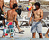 Slide Picture of Shirtless Rafael Nadal on the Beach in Spain