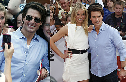 Tom Cruise and Cameron Diaz Promoting Knight and Day in Germany 2010-07-21 19:00:00