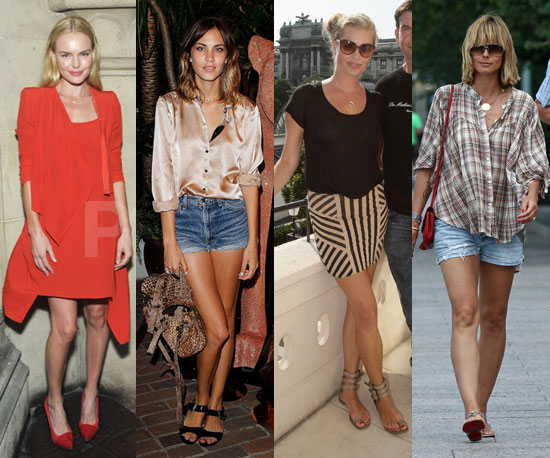 CelebStyle's Top Four Looks of the Week