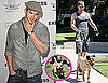 Pictures of Kellan Lutz Walking His Dogs Kevin and Kola in LA
