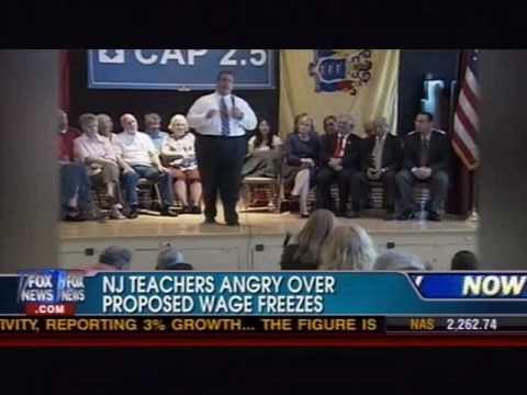 Chris Christie vs. Teacher Unions