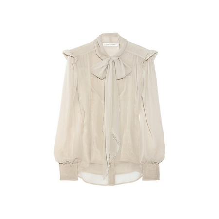 Chiffon Bow Blouse, approx $715, Marc Jacobs from Net-a-Porter