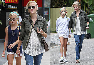 Pictures of Reese Witherspoon With Ava Phillippe in LA
