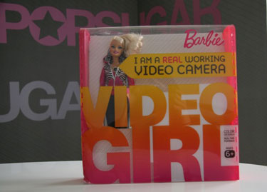 Video Girl Barbie With Hidden Camera