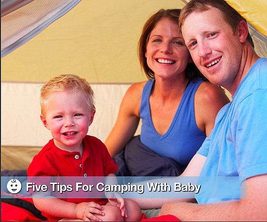 Five Tips For Camping With Baby