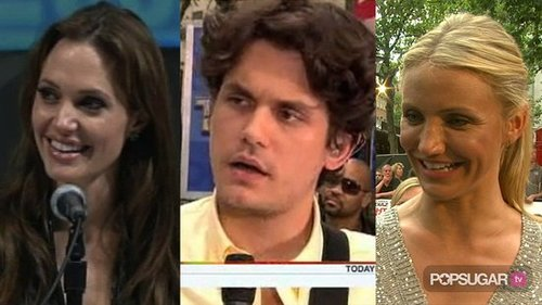 Video of Angelina Jolie at Comic-Con, Video of John Mayer Performing on The Today Show, and Cameron Diaz Talking About Kissing T 2010-07-23 14:10:12