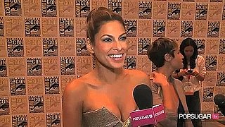 Video of Eva Mendes at Comic-Con For The Other Guys
