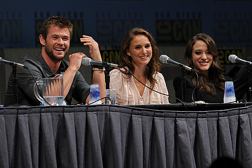 Natalie Portman, Chris Hemsworth and Kat Dennings Interview For Thor at Comic-Con 2010