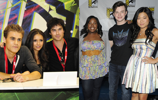 Best Spoilers: The Vampire Diaries and Glee